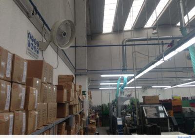 Installazione impianto di nebulizzazione fisso – M2F Srl